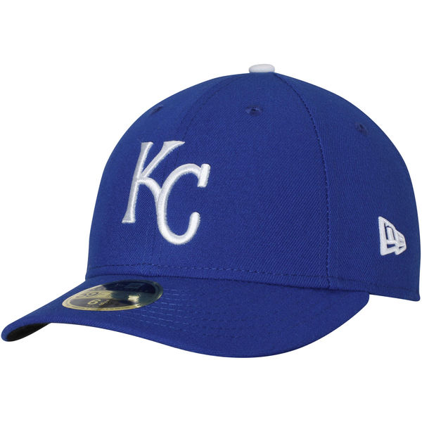 New Era Kansas City Royals Royal Game Authentic Collection On-Field Low Profile 59FIFTY Fitted Hat