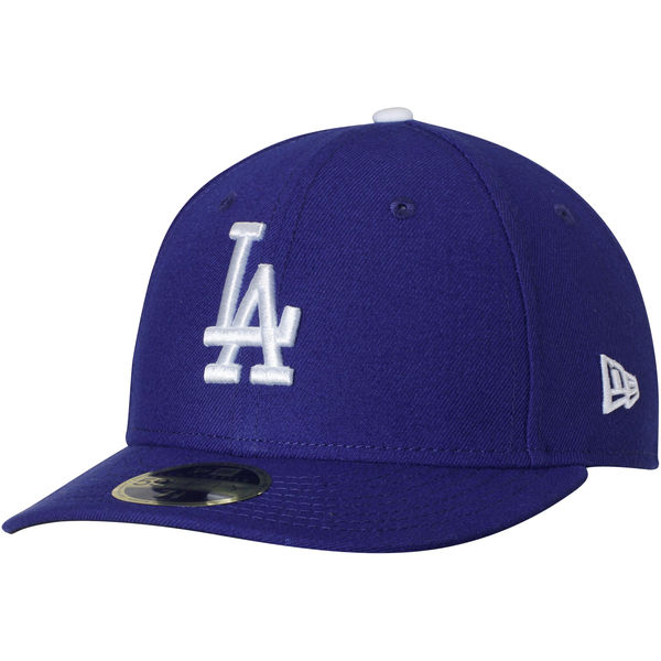 New Era Los Angeles Dodgers Royal Game Authentic Collection On Field Low Profile 59FIFTY Fitted Hat