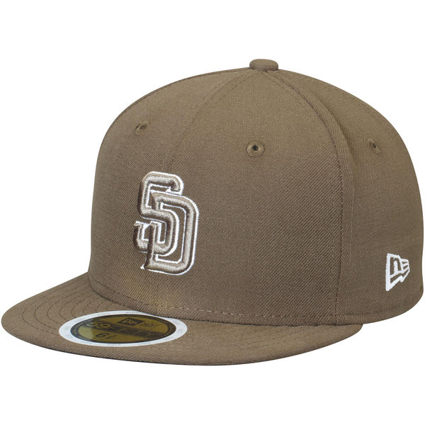 New Era San Diego Padres Youth Brown Authentic Collection On-Field Alternate 59FIFTY Fitted Hat
