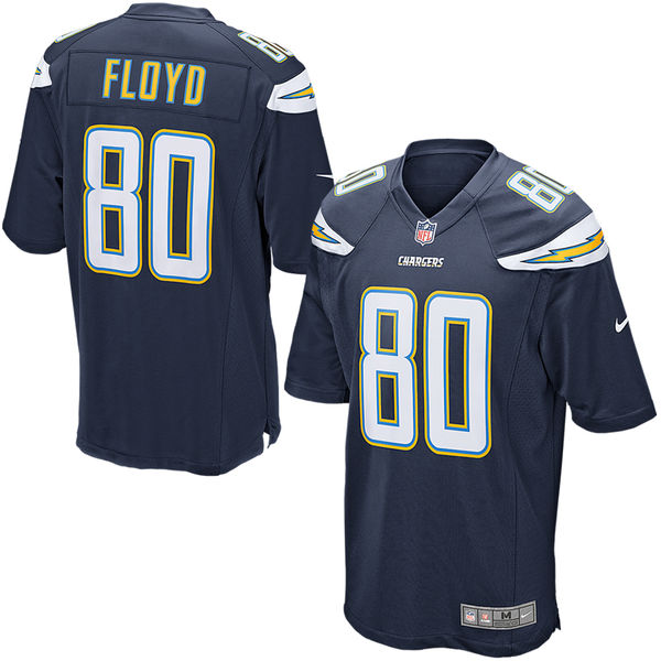 Nike Malcom Floyd Los Angeles Chargers Navy Blue Game Jersey