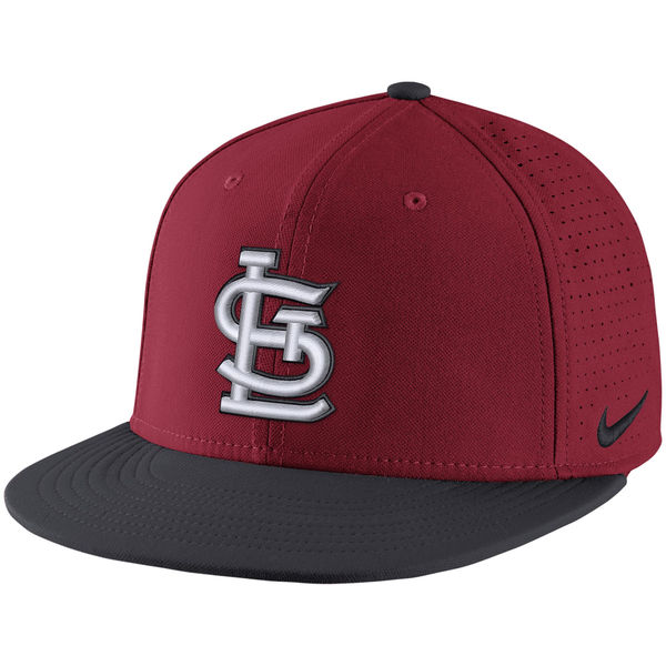 Nike St. Louis Cardinals Red Aero True Adjustable Hat