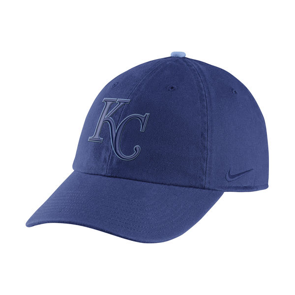 Nike Kansas City Royals Royal Cooperstown Collection Heritage 86 Adjustable Hat
