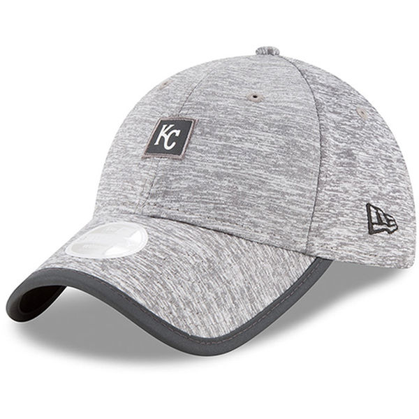 New Era Kansas City Royals Women's Gray Trimflect 9TWENTY Adjustable Hat