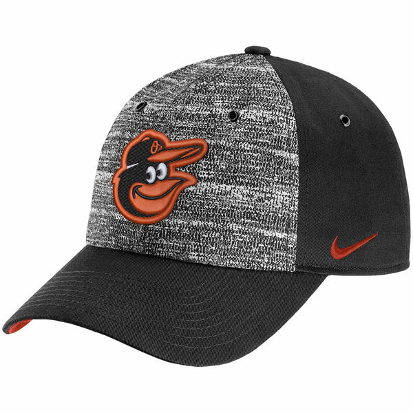 Nike Baltimore Orioles Heathered Black New Day H86 Adjustable Hat