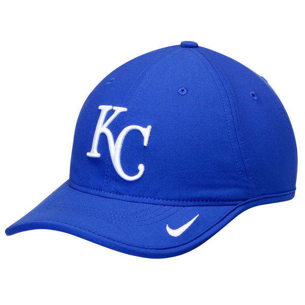 Nike Kansas City Royals Royal Vapor Performance Adjustable Hat
