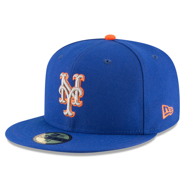 New Era New York Mets Royal 2017 Authentic Collection On Field 59FIFTY Fitted Hat