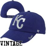 '47 Brand Kansas City Royals Women's Royal Sparkle Slouch Hat