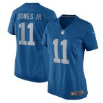 Nike Marvin Jones Jr Detroit Lions Women's Blue 2017 Throwback Game Jersey