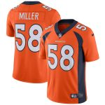 Nike Von Miller Denver Broncos Orange Vapor Untouchable Limited Player Jersey