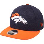 New Era Denver Broncos Navy/Orange Classic Trim Snap Low Profile 9FIFTY Adjustable Hat
