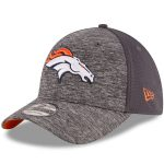New Era Denver Broncos Graphite Shadowed Team 2 39THIRTY Flex Hat