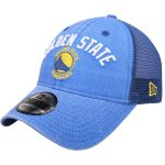 New Era Golden State Warriors Royal Rugged Canvas 9TWENTY Snap 2 Adjustable Hat