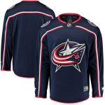 Fanatics Branded Columbus Blue Jackets Youth Navy Breakaway Home Jersey