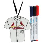St. Louis Cardinals Just Add Color Jersey Ornament