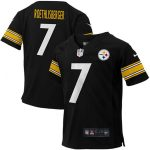 Nike Ben Roethlisberger Pittsburgh Steelers Toddler Black Game Jersey