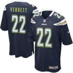 Nike Jason Verrett Los Angeles Chargers Navy Blue Game Jersey