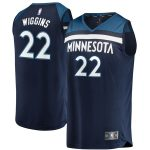 Fanatics Branded Andrew Wiggins Minnesota Timberwolves Navy Fast Break Replica Jersey - Icon Edition