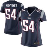 Nike Dont'a Hightower New England Patriots Women's Navy Blue Limited Jersey