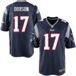 Nike Aaron Dobson New England Patriots Navy Blue Game Jersey