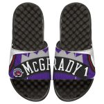 ISlide Tracy McGrady Toronto Raptors Youth Retro Jersey Slide Sandals