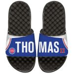 ISlide Isiah Thomas Detroit Pistons Youth Retro Jersey Slide Sandals