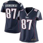 Nike Rob Gronkowski New England Patriots Girls Youth Navy Blue Game Jersey