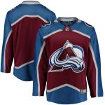 Fanatics Branded Colorado Avalanche Maroon Breakaway Home Jersey