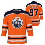 Connor McDavid Edmonton Oilers Infant Orange Replica Player Jersey