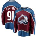 Fanatics Branded Vladislav Kamenev Colorado Avalanche Burgundy Breakaway Player Jersey