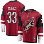 Fanatics Branded Alex Goligoski Arizona Coyotes Garnet Breakaway Player Jersey