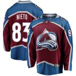 Fanatics Branded Matt Nieto Colorado Avalanche Burgundy Breakaway Player Jersey