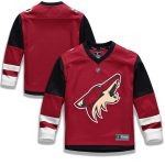 Fanatics Branded Arizona Coyotes Youth Red Home Replica Blank Jersey