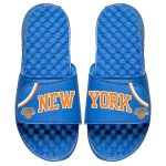 ISlide New York Knicks Youth Royal Away Jersey Slide Sandals