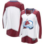 Fanatics Branded Colorado Avalanche Women's White Away Breakaway Blank Jersey