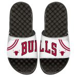 ISlide Chicago Bulls Youth White Home Jersey Slide Sandals