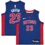 Nike Blake Griffin Detroit Pistons Preschool Blue Replica Jersey - Icon Edition