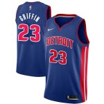 Nike Blake Griffin Detroit Pistons Blue Swingman Jersey - Icon Edition