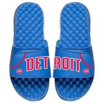 ISlide Detroit Pistons Youth Royal Away Jersey Slide Sandals