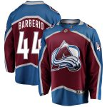 Fanatics Branded Mark Barberio Colorado Avalanche Burgundy Breakaway Player Jersey