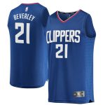 Fanatics Branded Patrick Beverley LA Clippers Youth Blue Fast Break Replica Jersey - Icon Edition