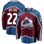 Fanatics Branded Colin Wilson Colorado Avalanche Burgundy Breakaway Player Jersey