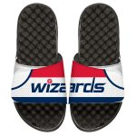 ISlide Washington Wizards Youth White Home Jersey Slide Sandals