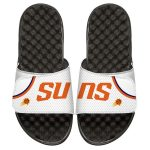 ISlide Phoenix Suns White Home Jersey Split Slide Sandals