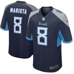 Nike Marcus Mariota Tennessee Titans Youth Navy New 2018 Game Jersey