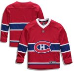 Fanatics Branded Montreal Canadiens Youth Red Home Replica Blank Jersey