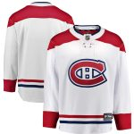 Fanatics Branded Montreal Canadiens White Breakaway Away Jersey