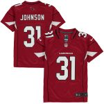 Nike David Johnson Arizona Cardinals Youth Cardinal Team Color Game Jersey