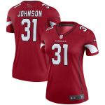 Nike David Johnson Arizona Cardinals Women's Cardinal Legend Jersey