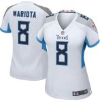Nike Marcus Mariota Tennessee Titans Women's White New 2018 Game Jersey