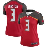 Nike Jameis Winston Tampa Bay Buccaneers Women's Red Legend Jersey